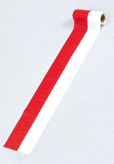 紅白柱巻(ビニール[絹目])